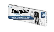 10 x Energizer Ultimate AA Mignon Lithium FR6 L91 1,5V im Karton / Folie