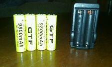 9800 mah rechargeable batteries +charger