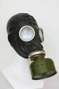 Gas Mask GP-5 with filter BLACK Soviet Russian NEW Vintage FUNY GIFT USSR