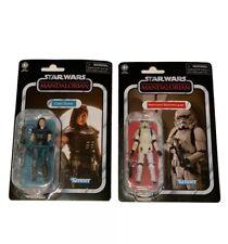 Star Wars The Mandalorian Cara Dune And Remnant Stormtrooper Kenner Vintage