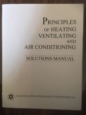 Principles Of Heating Ventilating And Air Conditioning - Solutions Manual