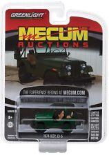 1974 Jeep CJ 5  Green *** Greenlight Mecum Auctions 1:64 NEU+OVP