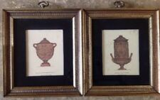 2 Piranesi Vases Copperplate Engravings Cinerary Urn & Possession Of His Majesty