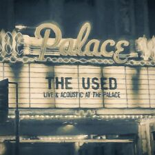 THE USED-LIVE & ACOUSTIC AT THE PALACE 2016 HOPELESS REC. 2 LP'S SEALED, MINT