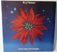 "B.J. Thomas : All Is Calm, All Is Bright. 1985 12"" Vinyl / LP PROMO PC-40148"