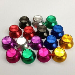 2pcs Aluminum Metal Analog Joystick thumb Stick grip Cap for PS4 Slim Pro Xbox