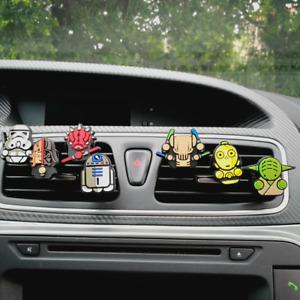 Star Wars Jedi Sith Yoda Vader C3P0 R2D2 Trooper Car Air Freshener Fragrance UK