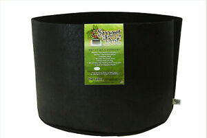 Smart Pot 45 Gallon Black Fabric/Soft Sided Garden Aeration Container - 1 Pot