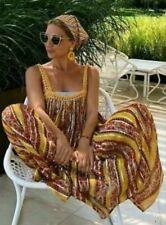 ZARA Beautiful Multicoloured Laminated Print Dress  large t top tunic