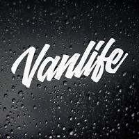 Vanlife Campervan Sticker - Self Build Van Life VW T25 T3 T4 T5 Surf Skate