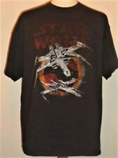 """""""distressed"""" X-WING STARFIGHTERS Classic STAR WARS T-shirt"""