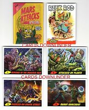 2020 TOPPS MARS ATTACKS UPRISING 5 PROMO PREVIEW CARD SEALED RETRO 60's WAX PACK