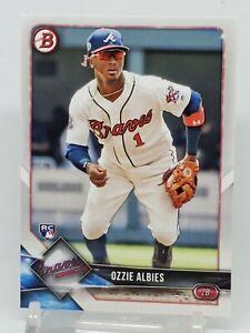 2018 Bowman Ozzie Albies #62 RC Atlanta Braves *Paper
