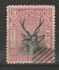 1897 NORTH BORNEO 4c  DEFINITIVE SG 94 USED
