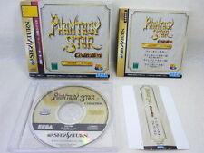 Sega Saturn Phantasy Star Collection SS mit Spine Card * Import Japan Game SS