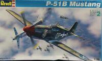Revell 1:32 P-51 B P-51B Mustang Plastic Aircraft Model Kit #4773U