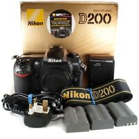 Nikon D200 Body only / 10.2 MP Mega Pixels DSLR camera
