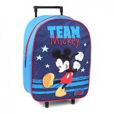 Disney Mickey Team Trolley Kids Suitcase 39 cm New