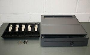 Toshiba GCS Cash Drawer 40N6755 for IBM POS Systems, USB, w/ Keys and Money Tray