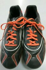 Kipsta Soccer Shoes  size 5 1/2  USA  Cleats Black/Orange M-1