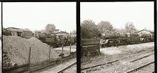 2 x Eisenbahn Negativ DR Dampflok Bahngelände   ( 114