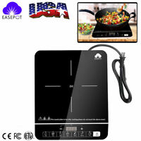 1800W Portable Induction Cooker Cooktop Countertop Burner Hot Plate Heater Timer
