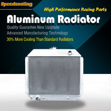 Aluminum Radiator For Ford Bronco F100 F150 F250 F350 F500 1970-1979 F-Series