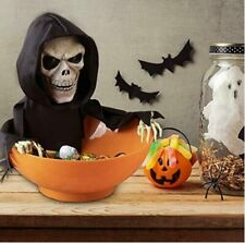Halloween Candy Bowl Dish Grim Reaper Animated Candy Bowls Halloween Decoration
