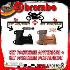 BRPADS-135 KIT PASTIGLIE FRENO BREMBO PIAGGIO BEVERLY 2003- 500CC [GENUINE+XS] A