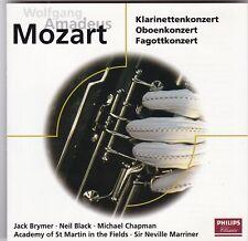 W.A.Mozart - Klarinetten-,Oboen-,Fagottkonzert (Brymer, Black, Academy,Marriner)