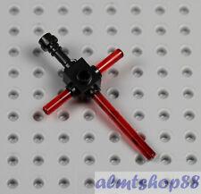 LEGO Star Wars - Kylo Ren Crossguard Lightsaber Custom Trans Red Darth Vader