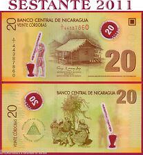 NICARAGUA   20 CORDOBAS POLYMER 2007 ( 2012 )  2^ EMISSION - P 202b -  FDS / UNC