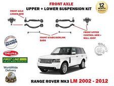 POUR RANGE ROVER MK3 LM 2002-> SUSPENSION AVANT SUPÉRIEURS BRAS DE INFÉRIEUR SET