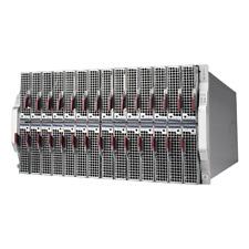 6U Supermicro Microblade 28 Blade System MBE-628E-420 B1SL1-F E3-1241 V3 32GB