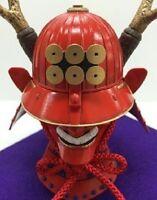 Samurai Sanada Yukimura Kabuto helmet kit 1:4 Armor ornament Japanese Sengoku
