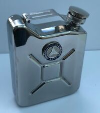 MERCEDES BENZ Car Petrol Can / Jerry Can Stainless Steel Drinking Hip Flask Gift