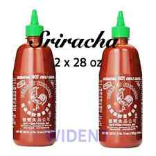 Sriracha Red Rooster HuyFong Hot Chili Sauce 2 x 28oz