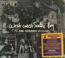 NEW SEALED  CD / DVD West Coast Seattle Boy ~ The Jimi Hendrix Anthology