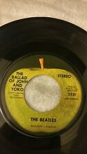 The Beatles Ballad of John and Yoko Old Brown Shoe Vinyl 45rpm Jukebox