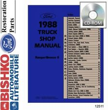 1999 Ford Ranger Shop Service Repair Manual Book Engine Drivetrain Wiring OEM