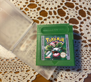 Pokemon  Verde Game Boy  Español + caja protectora