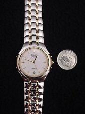 New Vintage French Gerrard Phillipe Men's Watch Gold Swiss 7Jewel