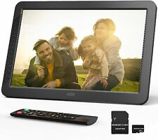 Zeccinow 8 inch Digital Picture Frame with 1280 x 800 FHD IPS Display