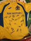 Barry Town United (Wales) Home Football Shirt 20 Signature
