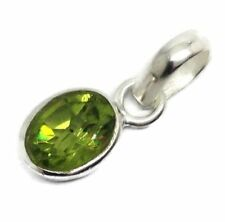 Peridot Not Enhanced Sterling Silver Fine Necklaces & Pendants