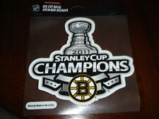 Boston Bruins Die Cut Stanley Cup Decal 7x71/2 Inches