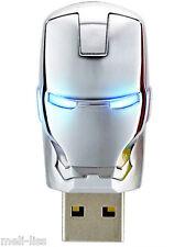 New 16 GB Avengers Iron Man Silver Pen Drive Memory Stick  USB 2.0  Flash Drive