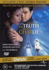 THE TRUTH ABOUT CHARLIE + CHARADE (2-DISC) **NEW & SEALED** DVD R4 (RARE)