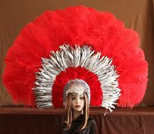Hand Crafted Feather Headdress (XLH11)