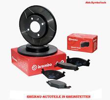 Brembo Max 2xBremsscheiben 238mm+Bremsbeläge VA-RENAULT Clio I,II,Megane,Twindo